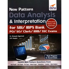 Disha Publication - Data Analysis & Interpretation for SBI/IBPS Bank PO/SO/Clerk/RRB/SSC Exams (English, Paperback) by Disha Team
