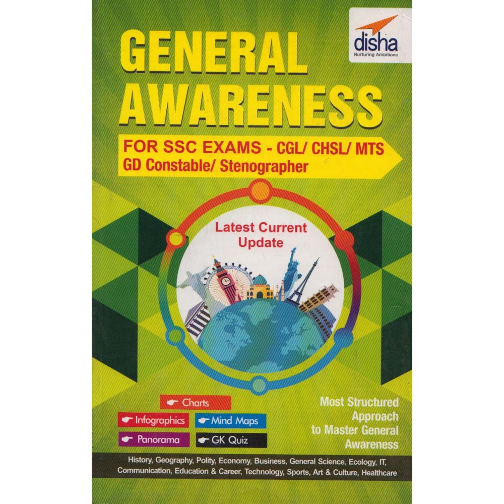 Disha Publication [General Awareness (English), Paperback] by Disha Publication Team