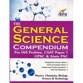 Disha Publication [General Science Compendium (English), Paperback]