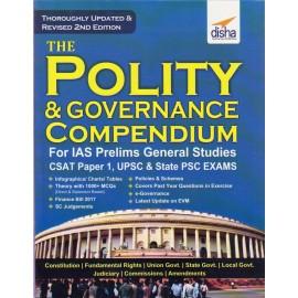 Disha Publication [POLITY & GOVERNANCE Compendium 2nd Edition (English), Paperback]
