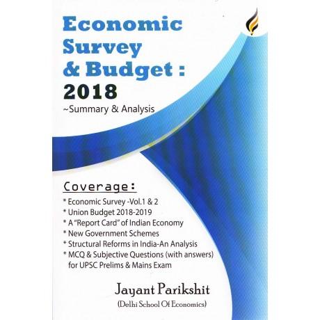 Eolas Publication- Economic Survey & Budget : 2018 Summary
