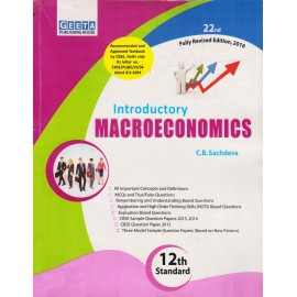 Geeta Publishing House [Introductory MACROECONOMICS 12th Standard, 22nd Edition Revised (English), Paperback] by C. B. Sachdeva
