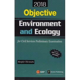 GK Publication [Objective Environment and Ecology 2018 (English), Paperback] by Majid Husain