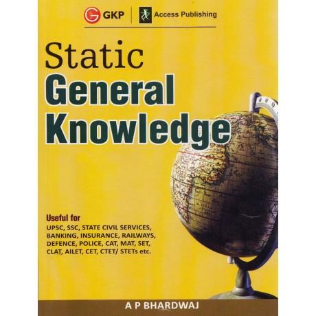 GKP - Static General Knowledge (English, Paperback) by A P Bhardwaj