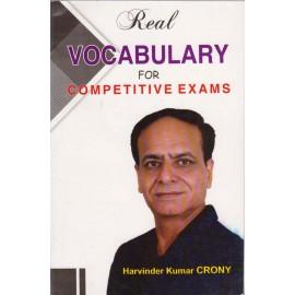 Hardik Publication [Real Vocabulary For Competitive Exams, paperback] by Harvinder Kumar Crony