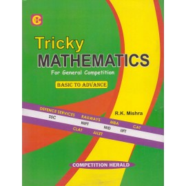 Herald Publication [Tricky Mathematics for General Competition Basic to Advance (English), Paperback] by R. K. Mishra