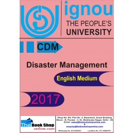 IGNOU - Disaster Management (CDM) (English) Printed
