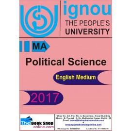 IGNOU - Political Science, MA (English) Printed