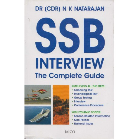 Jaico Books [SSB Interview the Complete Guide (English), Paperback] by Dr. (CDR) N K Natarajan