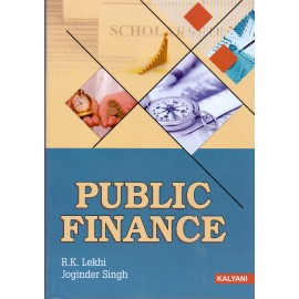 Kalyani Publishers [Public Finance (English) Paperback] by R. K. Lekhi & Joginder Singh