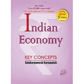 Kavin Mukhil Publications [Indian Economy Key Concepts (English), 5th Edition, Paperback] Sankarganesh Karuppiah