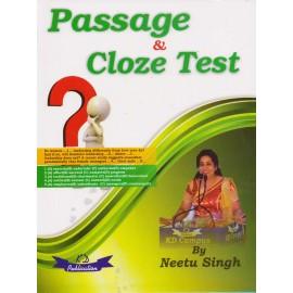 KD Publication [Passage & Cloze Test,  Paperback] by Neetu Singh