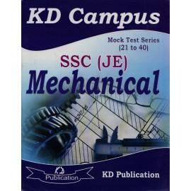 KD Publication [SSC (JE) Mechanical Mock Test 21 to 40 (English) Paperback] by Neetu Singh
