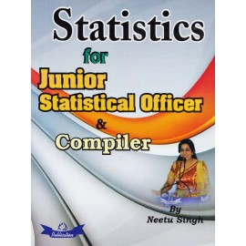 KD Publication [Statistics for Junior Statistical Officer & Compiler (Hindi) Paperback] by Neetu Singh