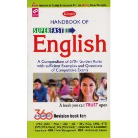 Kiran Publication PVT LTD [Handbook of Superfast ENGLISH 360 Degree Revision book, Paperback]