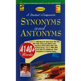 Kiran Publication - Synonyms and Antonyms 4140+ Words (English, Paperback)