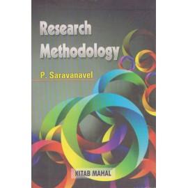 Kitab Mahal Publication [Research Methodology (English), Paperback] by P. Saravanavel