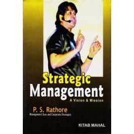 Kitab Mahal Publication [Strategic Management A Vision & Mission (English), Paperback] by P. S. Rathore