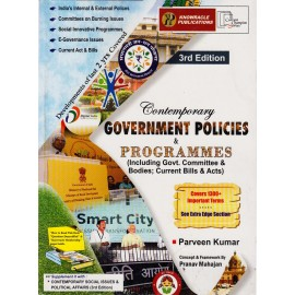 Knowracle Publication [Contemporary Government Politics & Programmes 3rd Edition, English] by Parween Kumar