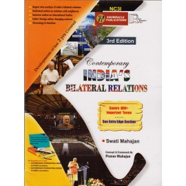 Knowracle Publication [Contemporary INDIA'S BILATERAL RELATIONS 3nd Edition, English] by Swati Mahajan
