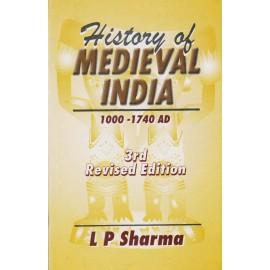 Konark Publishers PVT LTD [History of Medieval India 1000-1740 AD 3rd Edition (English), Paperback] by L. P. Sharma