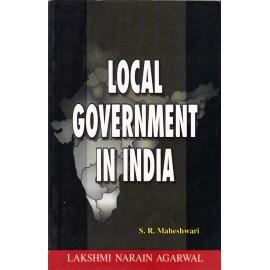 Lakshami Narain Agarwal Publication [Local Government in India (English), Paperback] by S. R. Maheshwari