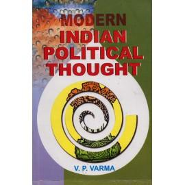 Lakshami Narain Agarwal Publication [Modern Indian Political Thought (English), Paperback] by V. P. Varma