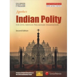 Lexis Nexis Publication [Jigeesha's Indian Polity 2nd Edition (English), Paperback]