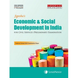 LexisNexis Publication [Economic & Social Development in India (English) Paperback] by Jigeesha's
