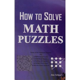 Lotus Press, Delhi [How to Solved Math Puzzles (English), Paperback] by Anu Sehgal
