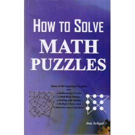 Lotus Press Publication [How to Solve Math Puzzles] by Anu Sehgal