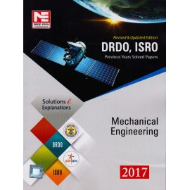 Made Easy Publication [DRDO, ISRO Previous Years Solved Papers Mechanical Engineering 2017 (English), Paperback]