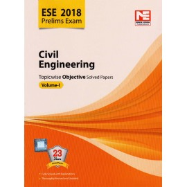 Made Easy Publication [ESE 2018 Prelims Exam Civil Engineering Topicwise Objective 23 Years Solved Papers Vol. I (English), Paperback]