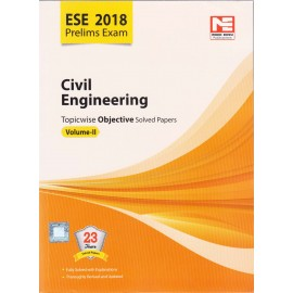Made Easy Publication [ESE 2018 Prelims Exam Civil Engineering Topicwise Objective 23 Years Solved Papers Vol. II (English), Paperback]