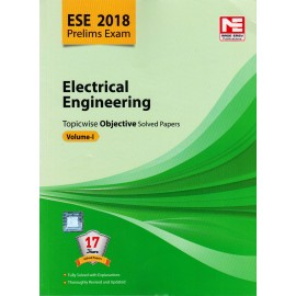 Made Easy Publication [ESE 2018 Prelims Exam Electrical Engineering Topicwise Objective Solved Papers Vol. I (English), Paperback]