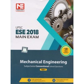 Made Easy Publication [UPSC ESE 2018 Main Exam (Mechanical Engineering) Paper - I Paperback 18 Years Previous Solved papers (English)]