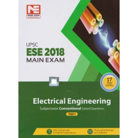 Made Easy Publication [UPSC ESE 2018 Mains Exam (Electrical Engineering) with 17 Years Previous Solved Papers (English), Paperback Paper - I]