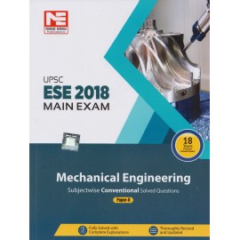 Made Easy Publication [UPSC ESE 2018 Mains Exam (Mechanical Engineering) Paper - II, Paperback with 18 Years Previous Solved Papers (English)]