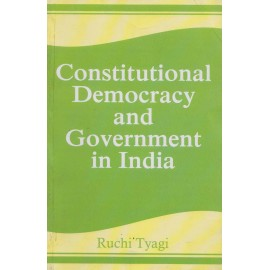 Mayur Paperback [Constitutional Democracy and Government in India,  English, Paperback] by Ruchi Tyagi