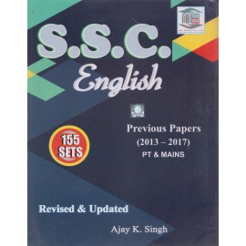 MB Book Publication [SSC English PT & MAINS 155 Sets (Previous Papers 2013-2017)] Author - Ajay Kr. Singh