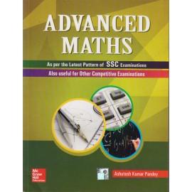 McGraw Hill Education [Advanced Maths As per the Latest Pattern of SSC Examination (English), Paperback] by Ashutosh Kumar Pandey