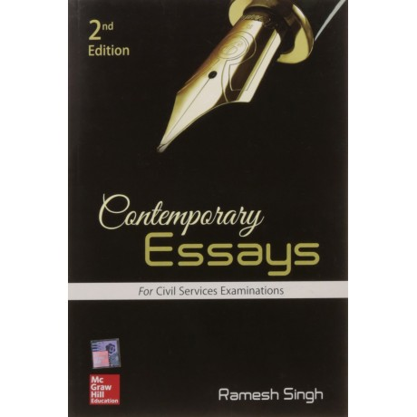 McGraw Hill Education [Contemporary Essays for Civil Services Examinations (2nd Edition)] Author - Ramesh Singh