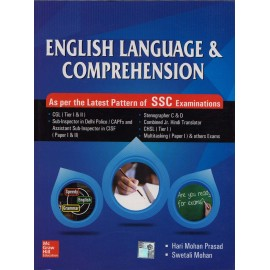 McGraw Hill Education [English Language & Comprehension, Paperback]- Author of - Hari Mohan Prasad & Swetali Mohan