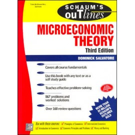 McGraw Hill Education [Microeconomic Theory 3rd Edition Dominick Salvatore (Hindi), Paperback] by Dominick Salvatore