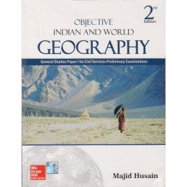 McGraw Hill Education [Objective Indian and World Geography General Studies Paper - I 1500+ Questions (Hindi) Paperback] by Majid Hussain