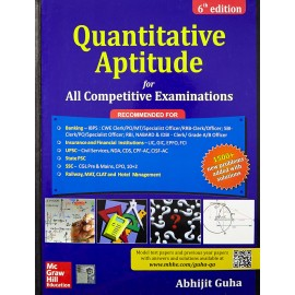 McGraw Hill Education [Quantitative Aptitude for All Competitive Examinations Paperback (English)] by Abhijit Guha