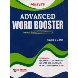 Miraya Publication [Advanced Word Booster, Paperback] by Shyam Sharma