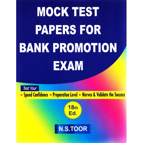 Mock Test Papers for Bank Promotion Exam 18th Edition (English, Paperback) by N. S. Toor