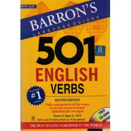 New Age International Publishers [501 English Verbs 2nd Edition BARRON'S LANGUAGE GUIDES (English), Paperback] by Thomas R. Bayer
