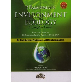 Oakbridge Publication [R Rajagopalan's ENVIRONMENT &n ECOLOGY A Complete Guide (English), Paperback] Foreword by Prabhat Kumar